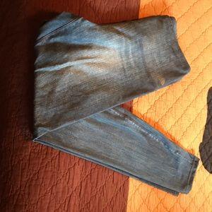 Northface high waisted Demin color leggings